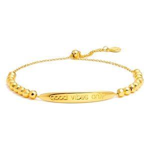 Gorjana GOOD VIBES ONLY Intention Bracelet